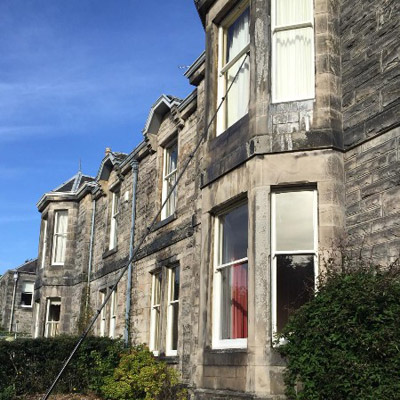 Residential window cleaning Glasgow