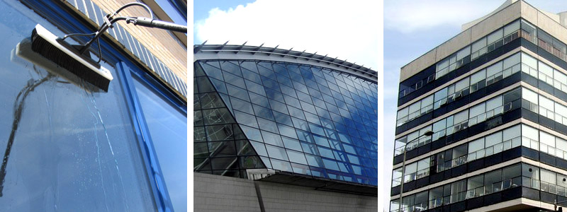 Commercial window cleaning Glasgow